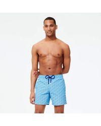 Vilebrequin Swimwear Micro Ronde Des Tortues - Blue