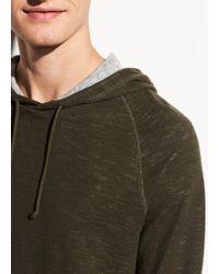 Vince Double Knit Pullover Hoodie - Multicolour