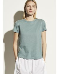 Vince - Short Sleeve Relaxed Tee - Lyst