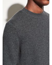 Vince - Thermal Cashmere Crew - Lyst