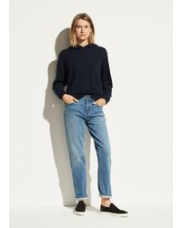 Vince Exclusive / Relaxed Straight Jean - Blue