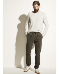 Vince Micro Cord Pull On Pant - Multicolour