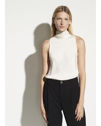 Vince Draped Turtleneck Bodysuit - Multicolor