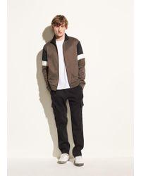 Vince - Drawstring Linen Cargo Pant - Lyst