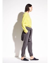 Vince - Raw Edge French Terry Sweats - Lyst