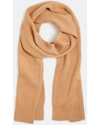 Vince Boiled Cashmere Scarf - Natural