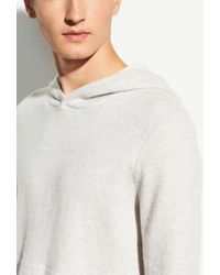 Vince Pullover Hoodie - White