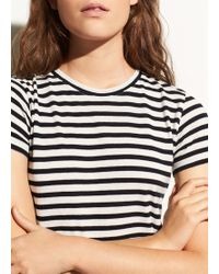 Vince - Bengal Stripe Essential Cotton Crew - Lyst