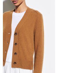 Vince Cashmere Shrunken Button Cardigan - Multicolour