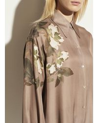 Vince Lisianthus Collared Blouse - Natural