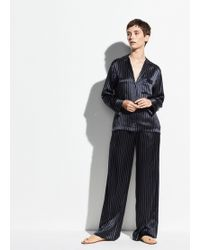 Vince - Exclusive / Pajama Shirt - Lyst