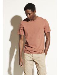 Vince Garment Dye Short Sleeve Crew - Multicolor