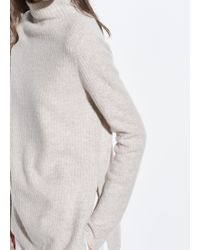 Vince - Boiled Cashmere Turtleneck Tunic - Lyst