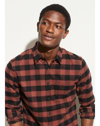 Vince Buffalo Check Long Sleeve - Multicolour