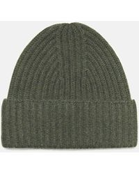 Vince Ribbed Beanie - Green