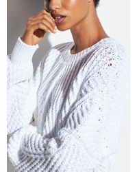 Vince - Directional Rib Cotton Pullover - Lyst