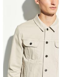 Vince The Trucker Jacket - Natural