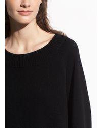 Vince Full Sleeve Pullover - Black