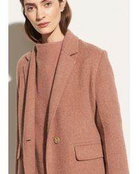 Vince - Long Coat - Lyst