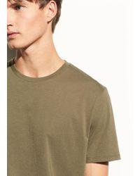 Vince - Crew Pima Cotton T-shirt - Lyst