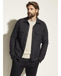 Vince Shirt Jacket - Blue
