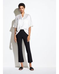 Vince - Crop Flare - Lyst