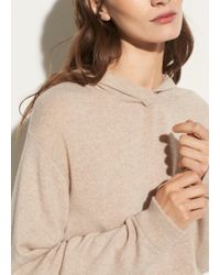Vince - Overlap Cashmere Hoodie - Lyst