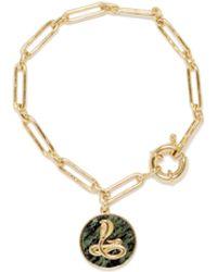 Vince Camuto Snake Charm Bracelet - Metallic
