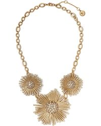 Vince Camuto - Triple-flower Necklace - Lyst