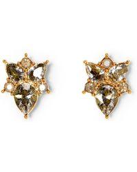 Vince Camuto - Jewel-spike Stud Earrings - Lyst
