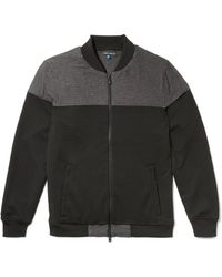Vince Camuto - Colorblock Bomber Jacket - Lyst