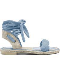 Vince Camuto Kastela Ankle-wrap Sandal - Blue