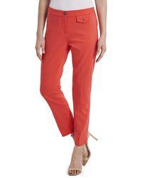 Vince Camuto Slim-leg Pants - Red