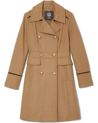 Vince Camuto - Wool-blend Military Coat - Lyst