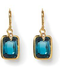 Vince Camuto - Blue Jewel Earrings - Lyst
