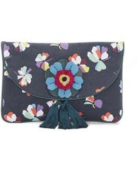 Vince Camuto - Ree – Floral-print Clutch - Lyst