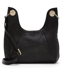 Vince Camuto - Zoey – Bubble Leather Crossbody Bag - Lyst