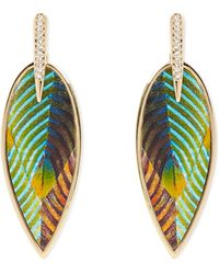 Vince Camuto - Feather Earrings - Lyst