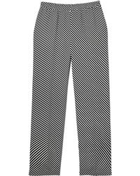 Vince Camuto - Striped Wide-leg Trousers - Lyst