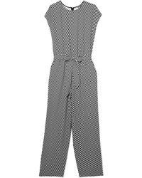 Vince Camuto - Striped Jumpsuit - Lyst