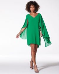 Vince Camuto Cape-effect Shift - Green