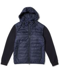 Vince Camuto - Mixed-material Quilted Jacket - Lyst