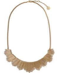 Vince Camuto - Jewelled Ridged Necklace - Lyst