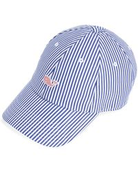 f6a18469e Dune Striped Baseball Hat - Blue