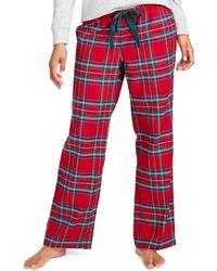 Vineyard Vines - Jolly Plaid Flannel Lounge Pants - Lyst