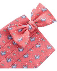 Vineyard Vines - Crab Cummerbund Set - Lyst