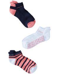 Vineyard Vines - 3-pack Athletic Socks - Lyst