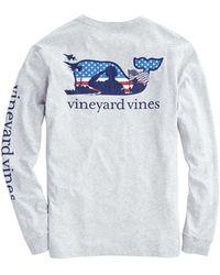 Vineyard Vines - Adult Long-sleeve Veterans Pocket T-shirt - Lyst