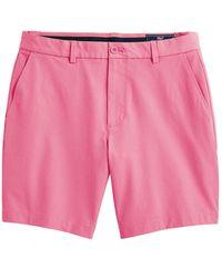 "Vineyard Vines 8"" Performance Shorts - Pink"