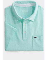 Vineyard Vines Seawall Edgartown Polo Shirt - Blue